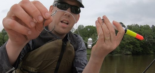 River-Fishing-for-Catfish-with-Floats-Multi-species-slam-on-Mystery-River