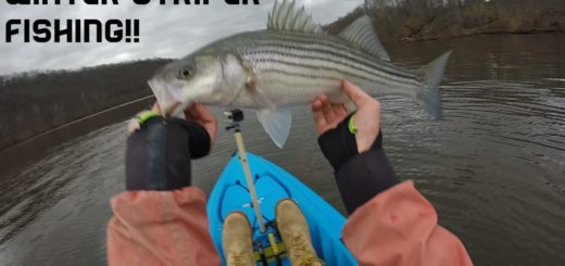 Housatonic-River-Connecticut-Winter-Striped-Bass-Kayak-Fishing-22516