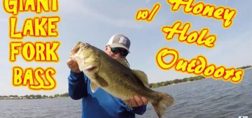 Lake-Fork-Bass-Fishing-Catching-Giants-W-Honey-Hole-Outdoors