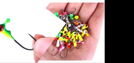 50-Pieces-Winter-Fishing-Bait-2.1cm-0.8g-Mini-Metal-Lead-Head-Hook