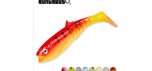 Hunthouse-Cannibal-Baits-fishing-soft-lure-shad-100mm-13.3g-wobblers-silicone-worm-artificial-bass