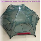 Slide-Hot-New-Portable-Folded-Fishing-Fish-Trap-Net-Mesh-Baits-Cast-Shrimp-Minnow-Crab-Y51D