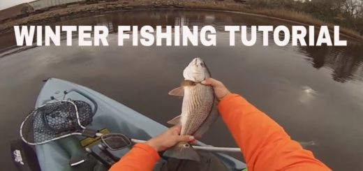 WINTER-FISHING-HOW-TO-Urban-River-Slam-Redfish-Speckled-Trout-Striped-Bass-TUTORIAL