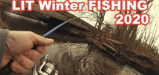 Winter-Fishing-for-Freshwater-Giants-Surprise-Catch