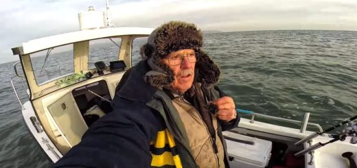 Winter-Fishing-from-a-Boat-Conger-Eel-Spurdog